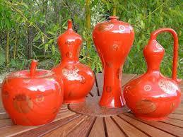 décoration avec poteries