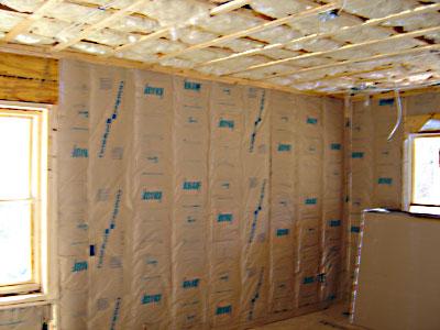 isolation murs intérieur