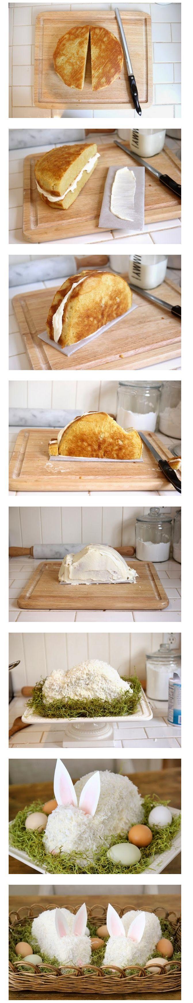 cake en forme de lapin