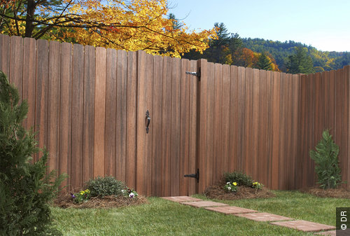 panneaux de bois extérieur