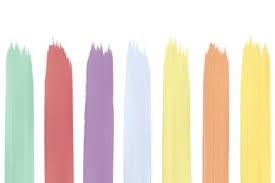 patine couleur pastel