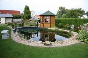 réaliser bassin jardin