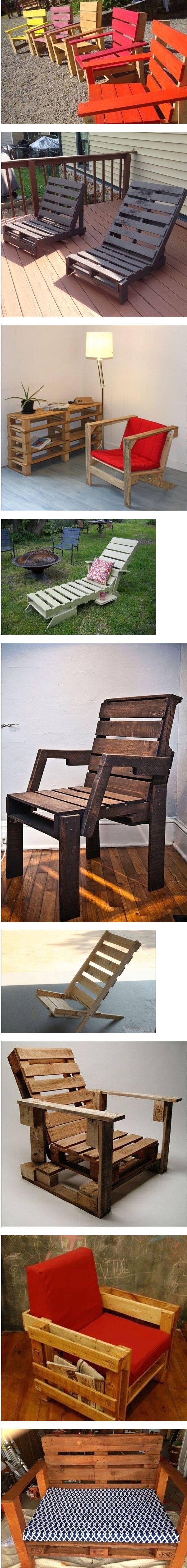 fabriquer chaise palette