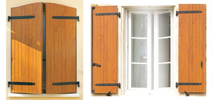 les volets battants bricolage maison. Black Bedroom Furniture Sets. Home Design Ideas
