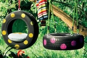 pneu récupéré