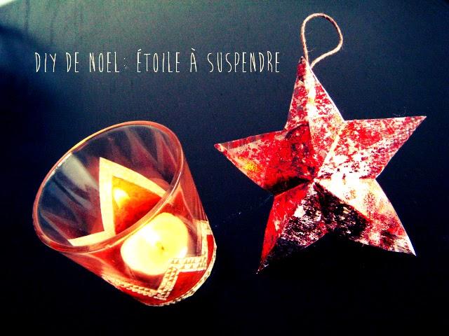 étoile décoration noel