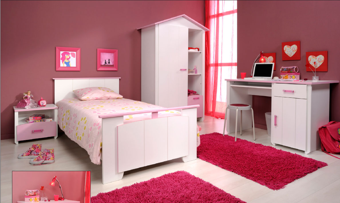 Belle chambre ado for Belle chambre fille