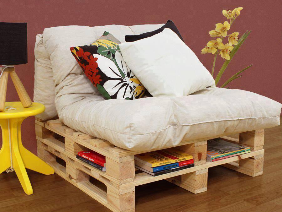 Des meubles en palettes couper le souffle astuces - Divan exterieur palette ...