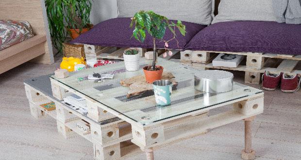 Des meubles en palettes à couper le souffle! - Astuces Bricolage
