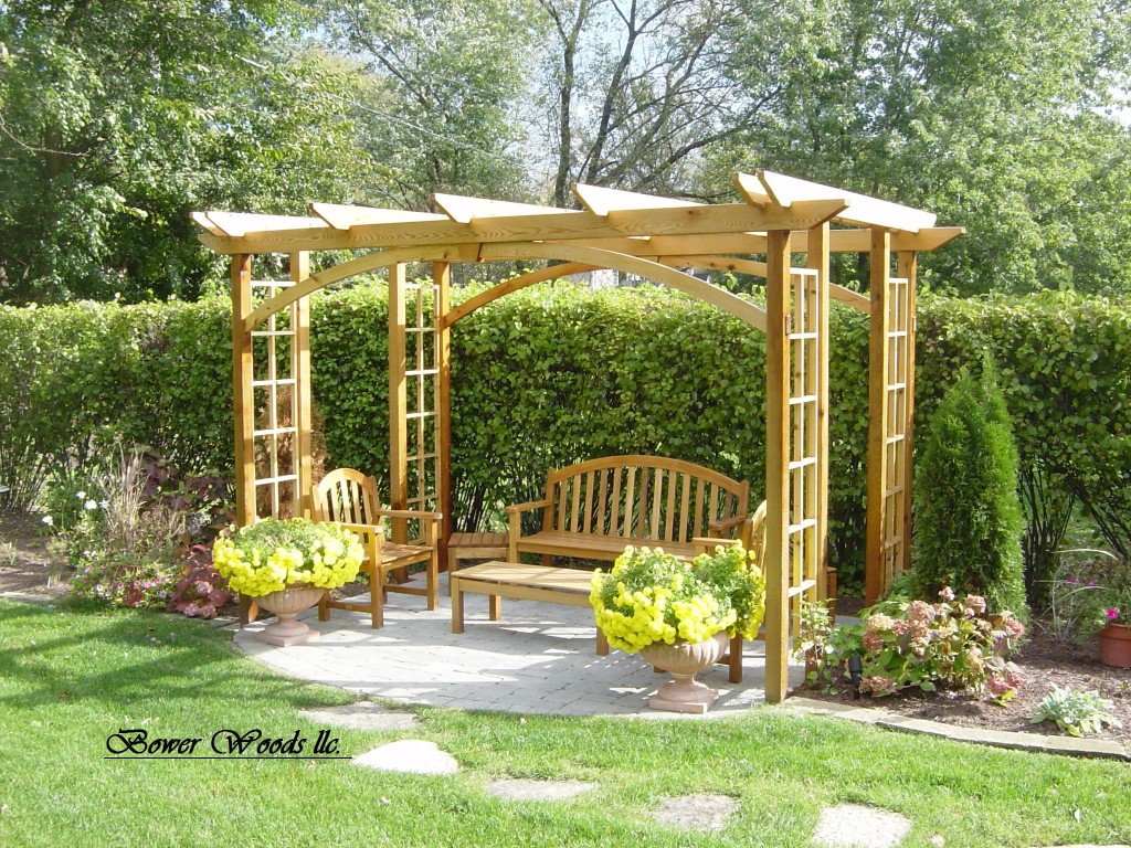 construire une pergola astuces bricolage. Black Bedroom Furniture Sets. Home Design Ideas
