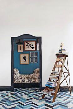10 id es de r cup d 39 chelle pour la d co astuces bricolage. Black Bedroom Furniture Sets. Home Design Ideas