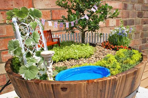 Tutoriel pour r aliser mini jardin astuces bricolage - Astuce bricolage jardin ...