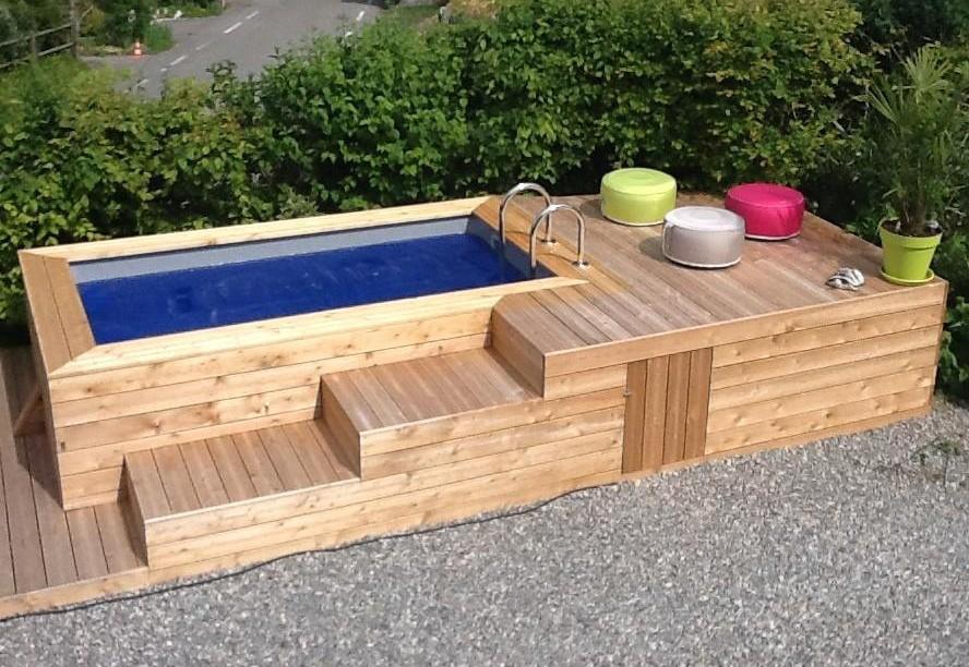 Pour construire une piscine astuces bricolage - Fabriquer bassin en bois nanterre ...
