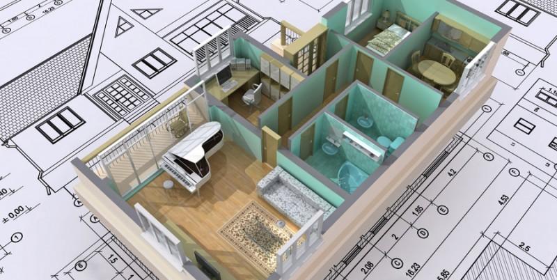Les diff rents plans de maison astuces bricolage for Les plant de maison