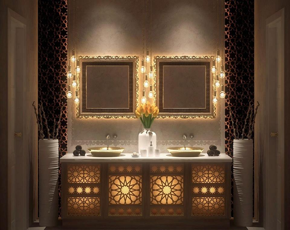 Collection des plus belles salles de bain style oriental for Salon zen casablanca