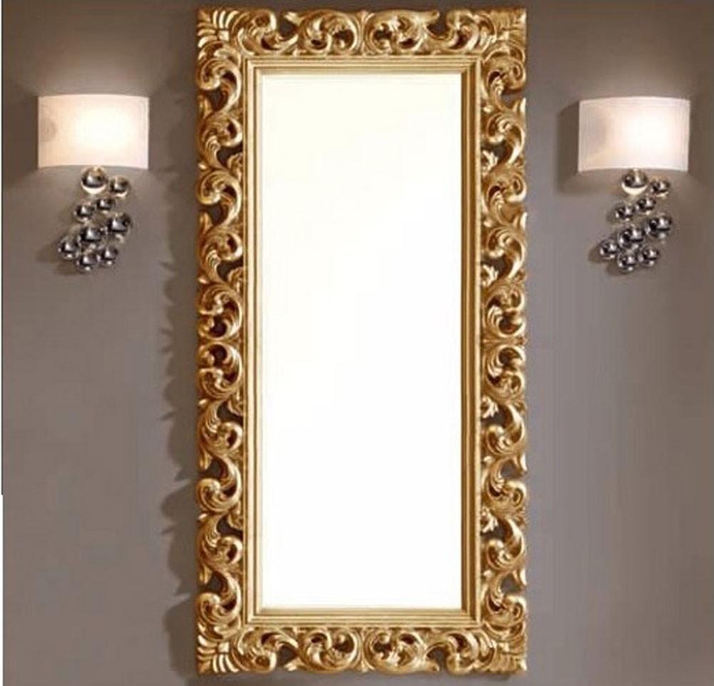 astuce pour dorer un encadrement de miroir astuces bricolage. Black Bedroom Furniture Sets. Home Design Ideas