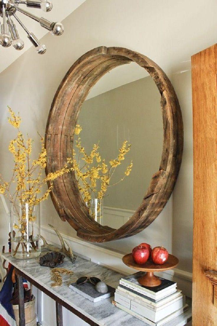 Comment Renover Un Tonneau astuce: restaurer le tain d'un miroir endommagé - bricolage