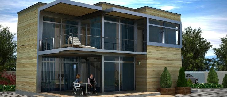 Maison ossature bois et rev tement astuces bricolage for Astuces bricolage maison