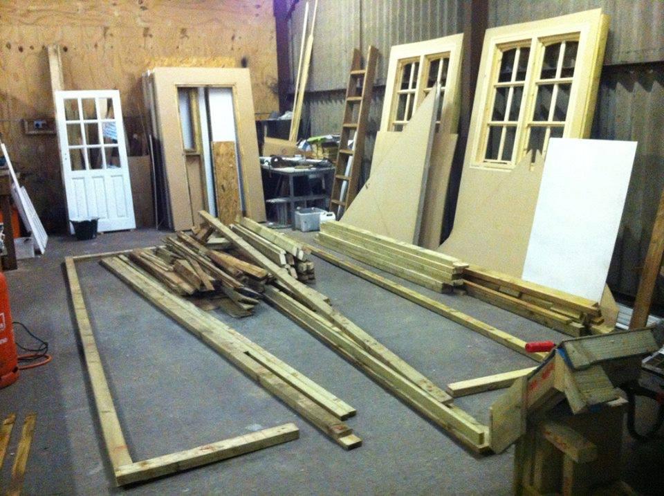 Etapes en image pour construire une remise dans votre jardin bricolage maison for Etape pour construire maison