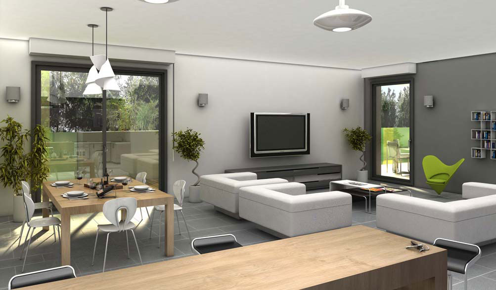 Idee amenagement interieur maison meilleures images d for Amenagement interieur