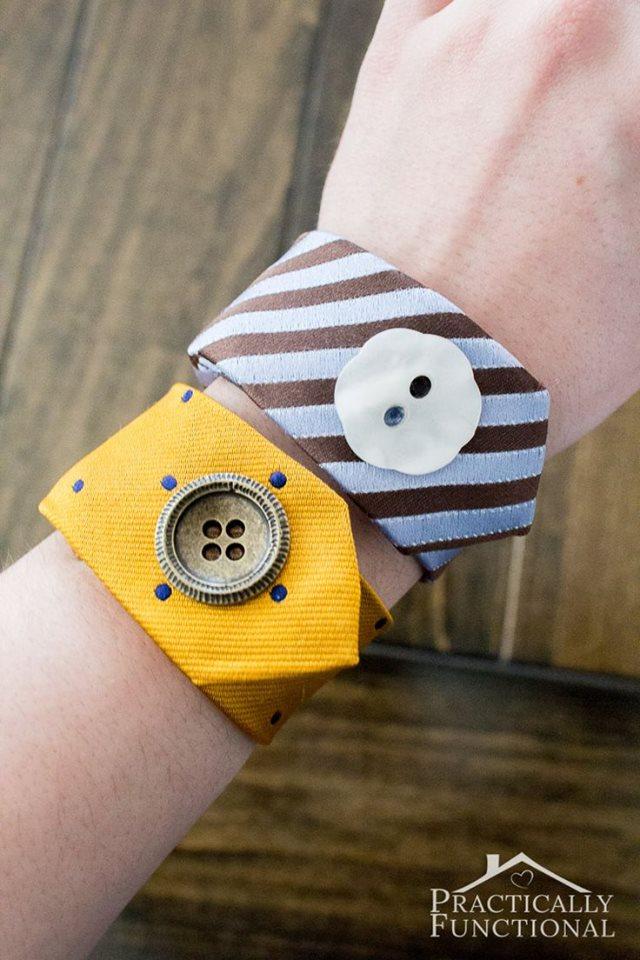 Bracelet avec une cravate 1