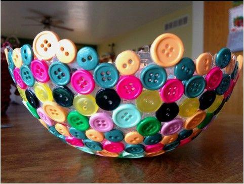 que faire avec des boutons - inspiration du blog