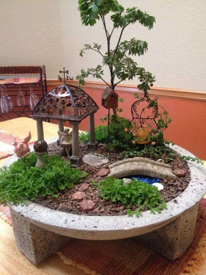Collection 14 des plus beaux jardins miniatures astuces - Astuce bricolage jardin ...