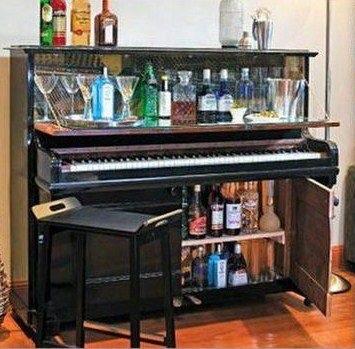 6 id es de recyclage d 39 un vieux piano astuces bricolage. Black Bedroom Furniture Sets. Home Design Ideas