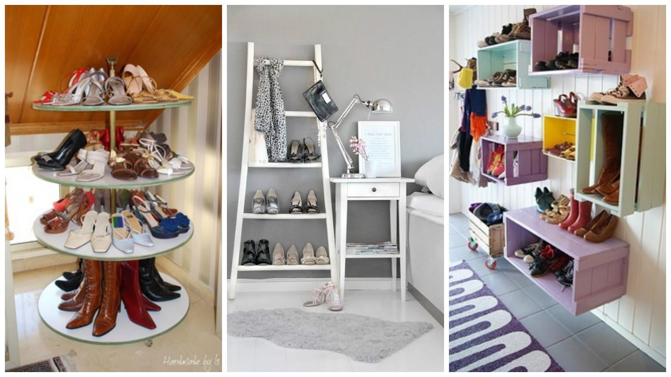 13 astuces pour ranger vos chaussures! - bricolage maison