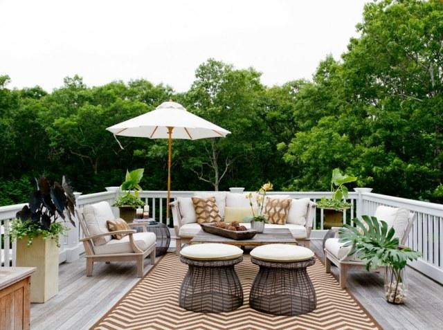 Idées de décoration de petite terrasse - Astuces Bricolage