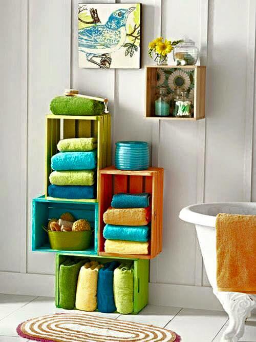 des id es de rangements dans la salle de bain astuces bricolage. Black Bedroom Furniture Sets. Home Design Ideas