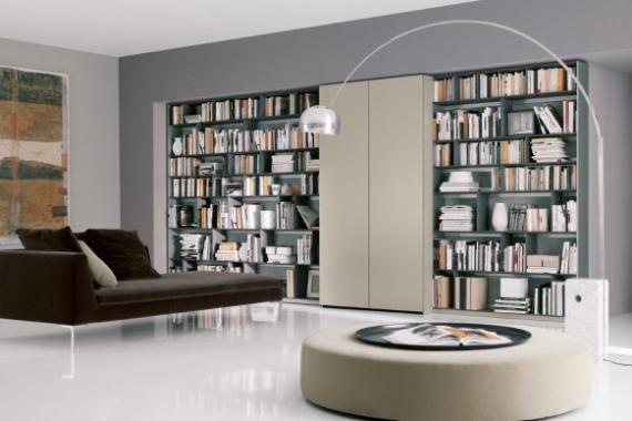 Astuce d co biblioth que moderne astuces bricolage - Bibliotheque originale design ...