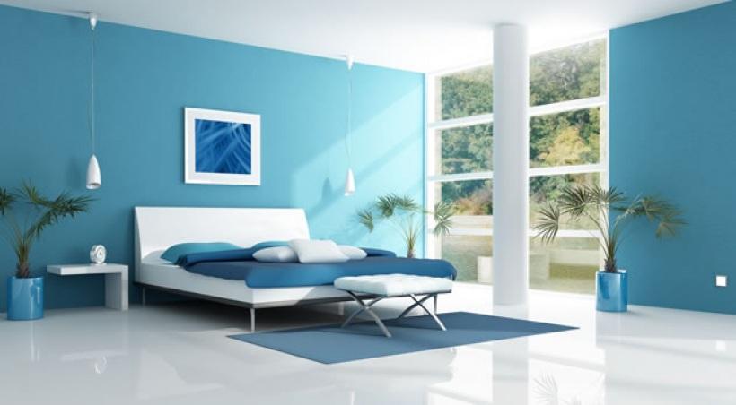 Chambre Bleu Turquoise. Charmant Peinture Chambre Bleu Turquoise ...