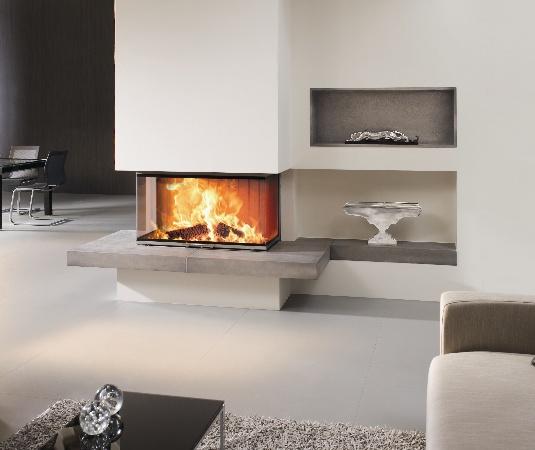 Une chemin e personnalis e de la classique la bio thanol astuces bricolage - Modele de cheminee moderne ...