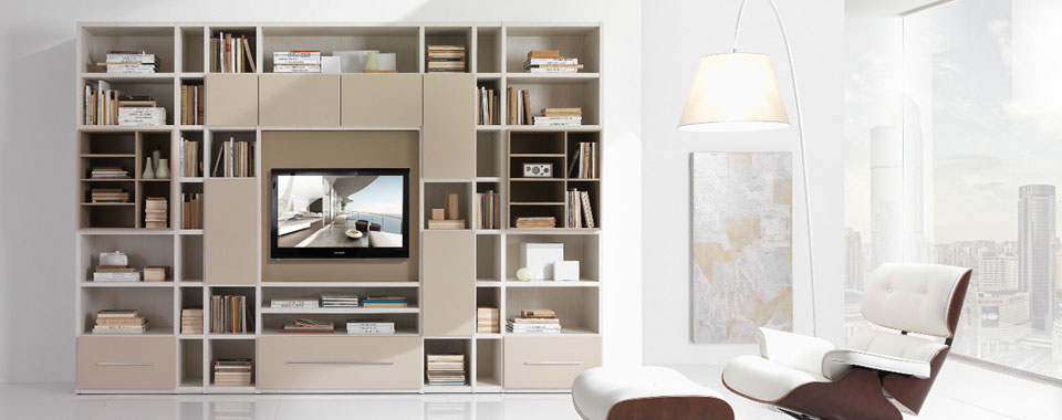astuce d co biblioth que moderne astuces bricolage. Black Bedroom Furniture Sets. Home Design Ideas