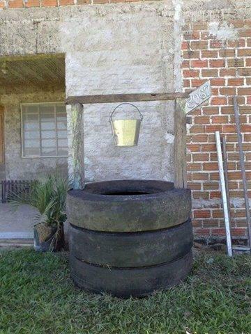Comment r aliser un puits artificiel pour la d coration de - Astuce pour decorer son jardin ...