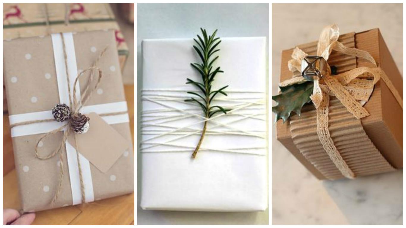 Emballage de cadeau avec de la r cup 39 astuces bricolage - Astuces bricolage recup ...