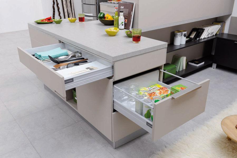 Rangements pratiques pour la cuisine astuces bricolage for Rangement pour la cuisine