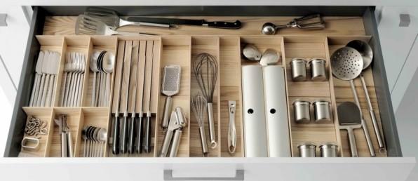 Rangements pratiques pour la cuisine bricolage maison - Meuble de rangement pour la cuisine ...