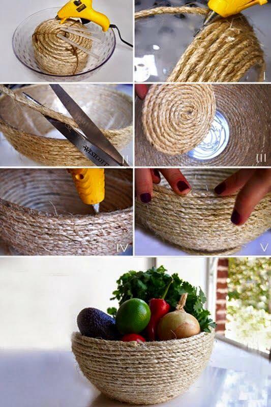 Cordage fibre naturelle