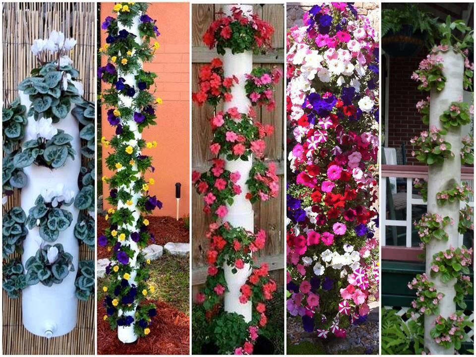 15 id es cr atives r aliser avec des tuyaux top astuces - Astuce bricolage jardin ...
