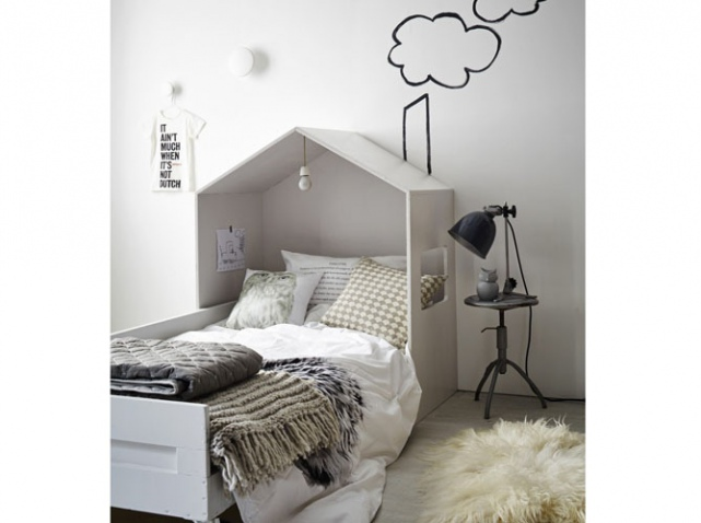 fabriquer ciel de lit bois. Black Bedroom Furniture Sets. Home Design Ideas