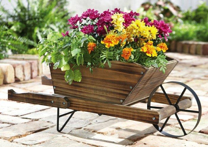 Décoration de jardin avec de la récupération! - Bricolage maison