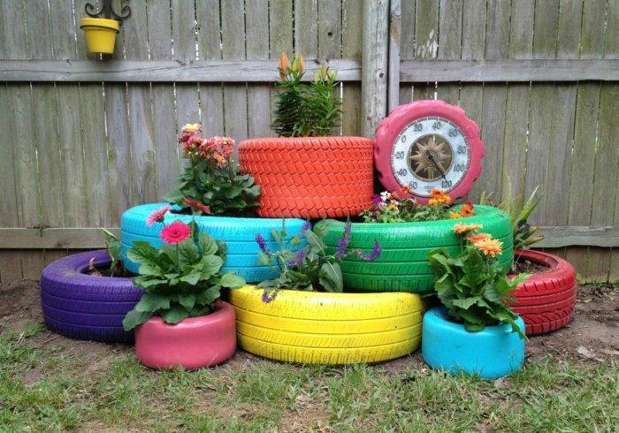 Décoration de jardin avec de la récupération! - Astuces ...