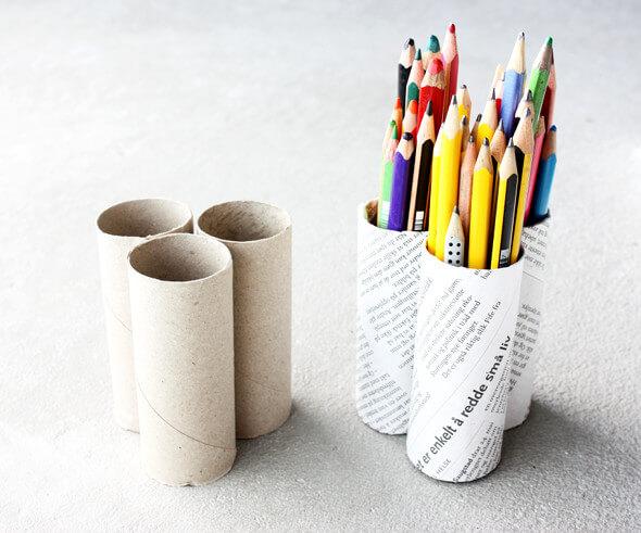 Id es de recyclage des rouleaux de papier toilette astuces bricolage - Papier toilette rouleau ...