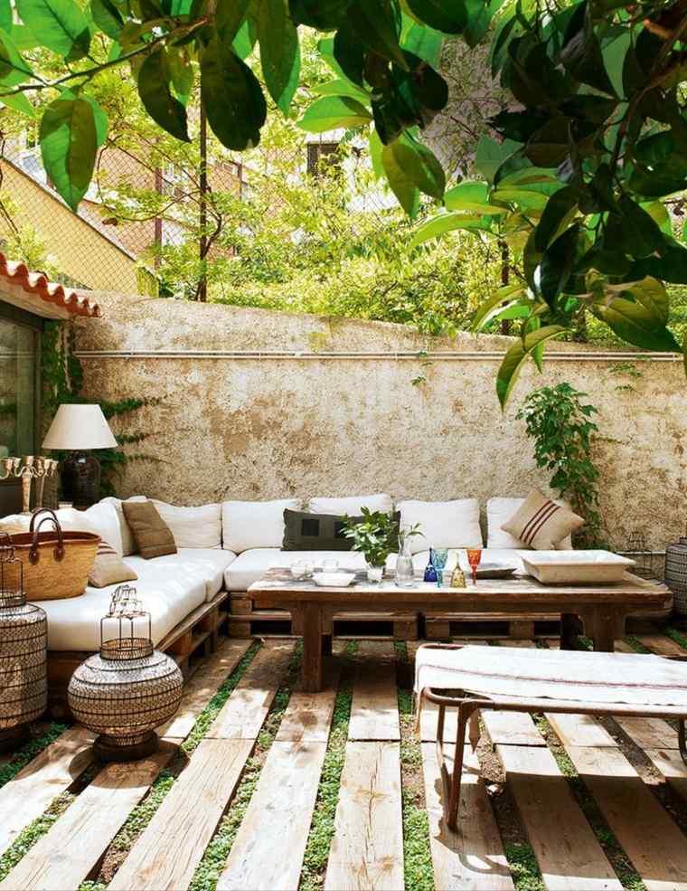 Emejing Bricolage Palette Salon De Jardin Gallery - Yourmentor ...