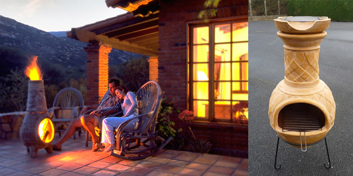 brasero interieur chemin e mexicaine ou brasero mexicain d 39 intereur. Black Bedroom Furniture Sets. Home Design Ideas