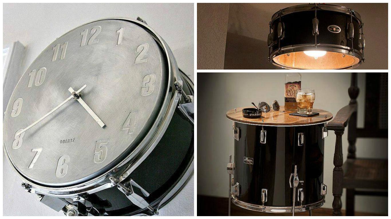 Int grer des instruments de musique sa d co 20 id es inspirantes - Decorer son interieur ...