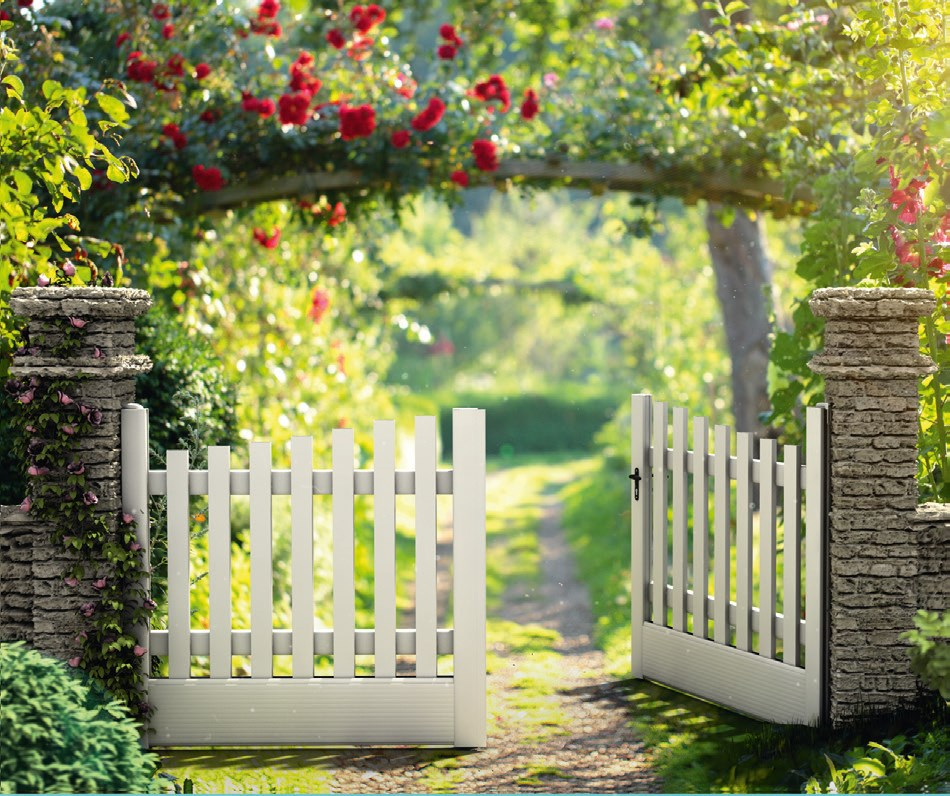 Comment choisir les mat riaux ad quats pour le portail de votre jardin bricolage maison - Portail de jardin ...
