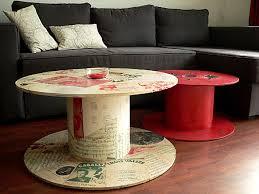 Table basse avec de la r cup ration magnifique astuces bricolage - Idee table basse recup ...